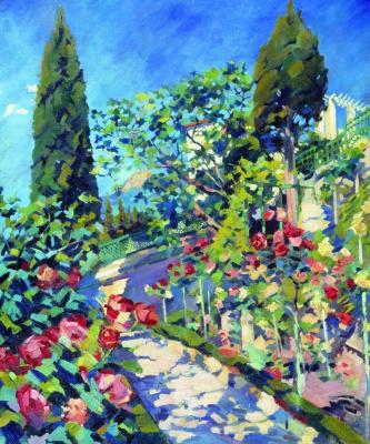 Sergey Arsenievich Vinogradov. Crimea. Flowering may