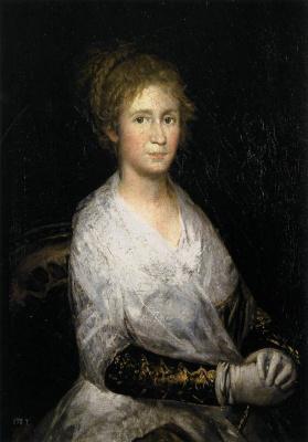 Francisco Goya. Josefa, Bayeux, the artist's wife