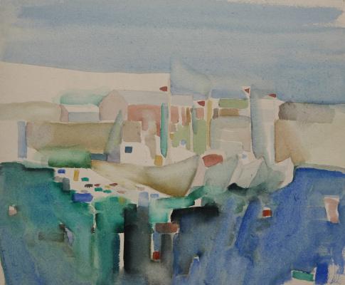 Mikhail Mikhailovich Kuznetsov. Baltic series. Port