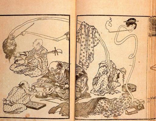 Кацусика Хокусай. Японские призраки