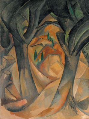 Georges Braque. Trees at L'Estaque