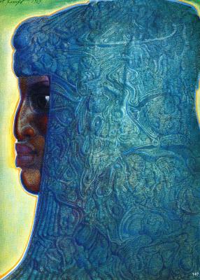 Эрнст Фукс. Женщина Намибии