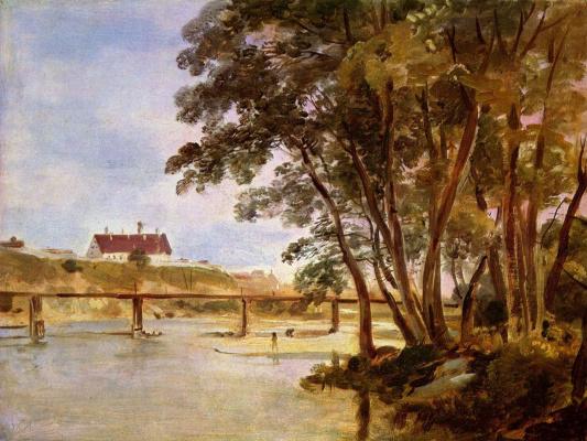 Остров Пратер с видом на Зихенхаус