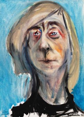 Tove Jansson. Self-portrait