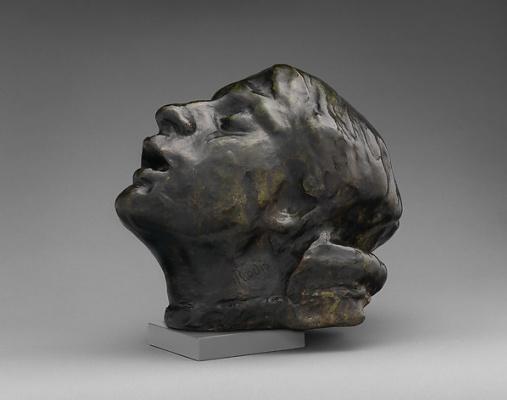 Auguste Rodin. The head of sorrow. Etude
