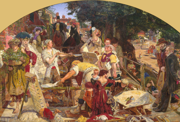 Ford Madox Brown. Work (second edition)