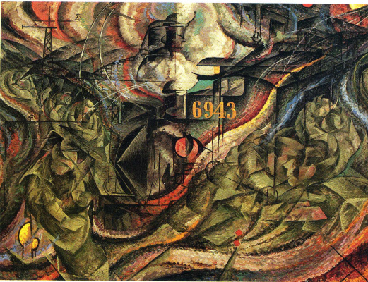 Umberto Boccioni. Plot 18