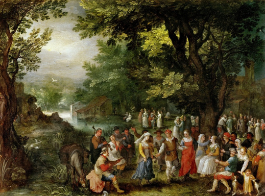 Jan Bruegel The Elder. Wedding