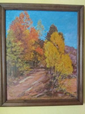 "Joseph Iosifovich Bokshay. ""Autumn"""