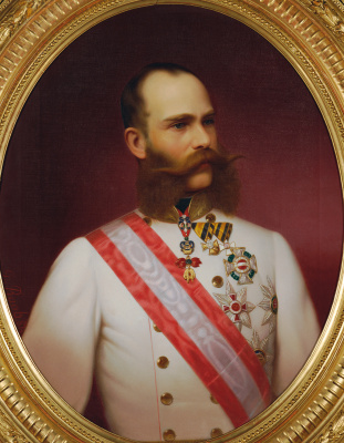 Georg Martin Ignaz Raab. Emperor Franz Joseph I