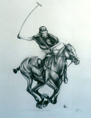 Margarita Anatolievna Chakova. The Polo player
