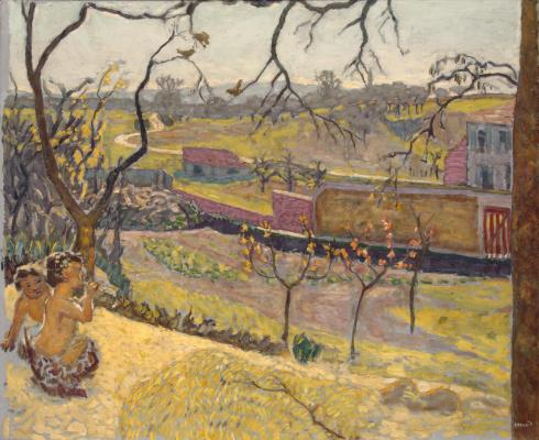 Pierre Bonnard. The beginning of spring. Little fauns