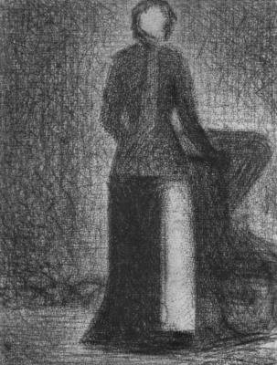 Georges Seurat. Cap-headband