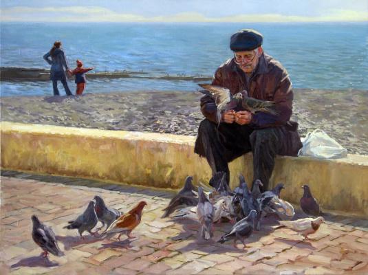 Константин Александрович Селезнев. Весна в Сочи