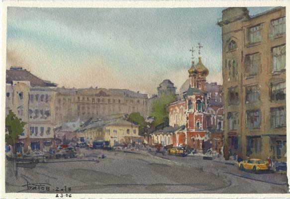 Anton Batov. Slavyanskaya Square