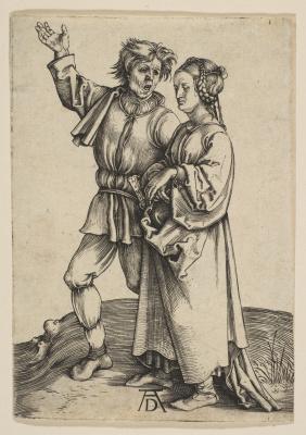 Альбрехт Дюрер. Крестьянин с женой