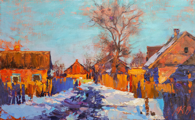 Michael Mole. Winter street.