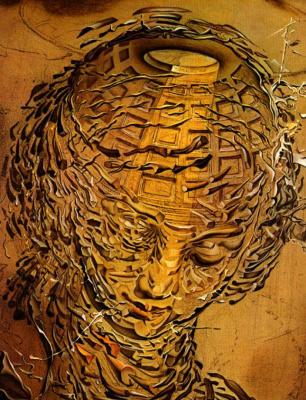 Salvador Dali. Raphael head exploding