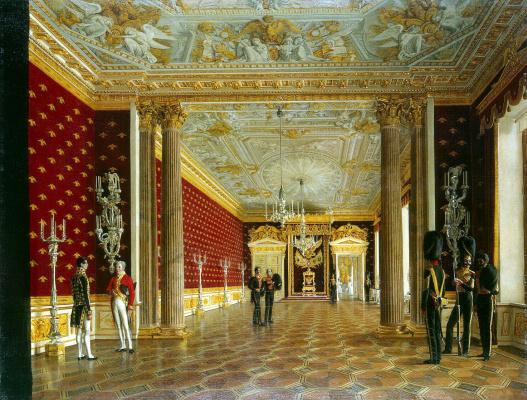 Виды залов Зимнего дворца