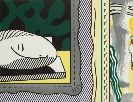 Рой Лихтенштейн. Две картины: спящая муза