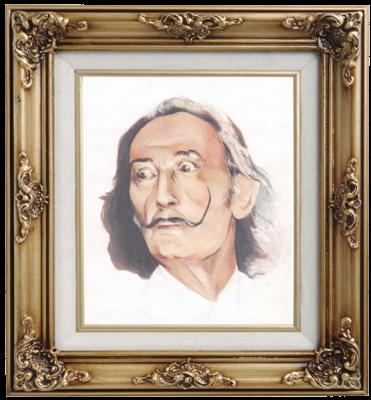 Ivan Alexandrovich Dolgorukov. Portrait Of Salvador Dali