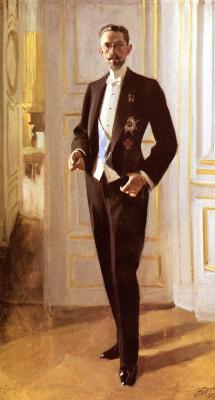 Anders Zorn. King Gustav Fifth