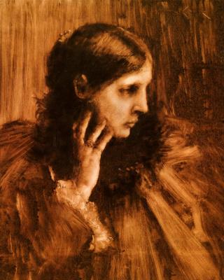 William Merritt Chase. Dreams