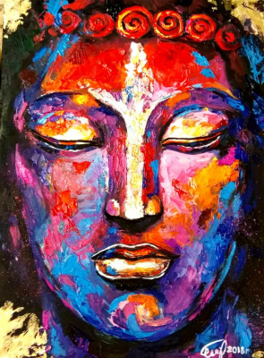Love Semenkova. Buddha. Colors of the World