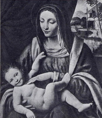 Бернардино Луини. Madonna and Child