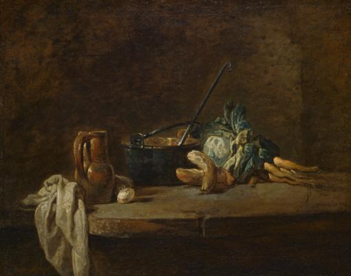 Жан Батист Симеон Шарден. Овощи для супа