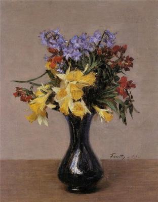 Анри Фантен-Латур. Весенние цветы