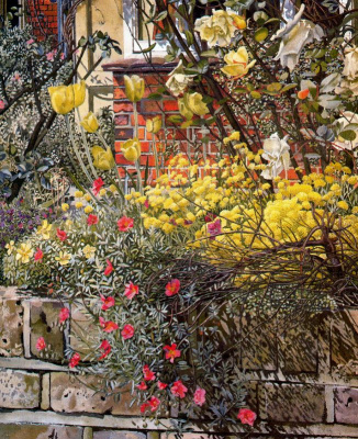 Stanley Spencer. Yellow tulips
