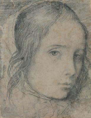Диего Веласкес. Голова девочки