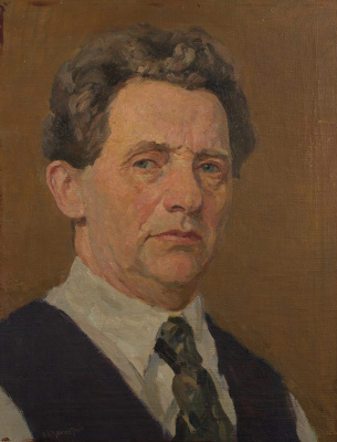 Mark Grigorievich Weinstein. Self-portrait
