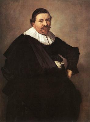 France Hals. Portrait of Lucas de Klerk
