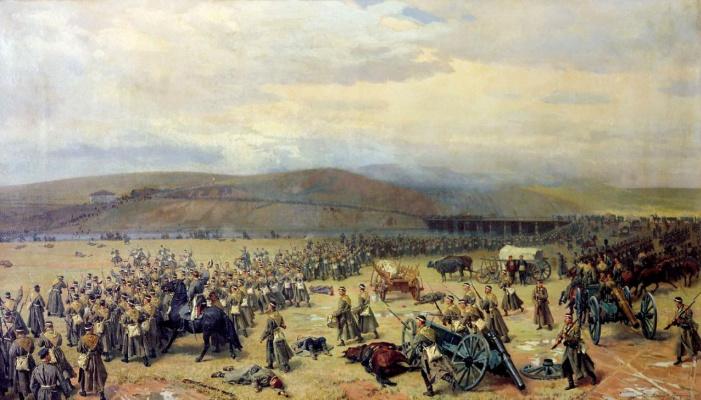 Nikolai Dmitrievich Dmitriev-Orenburg. The last battle at Plevna November 28 1877