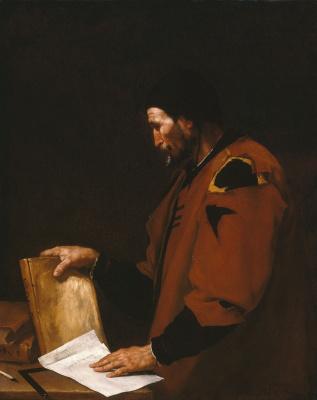 Хосе де Рибера. Аристотель