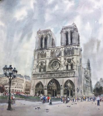 """Ivan Grigorovich Voloshin. """"Notre Dame de Paris"""""""