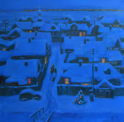 "Julia Andreevna Petrova. ""Christmas eve"""