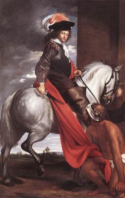 Якоб ван Ост Старший. Святой Мартин