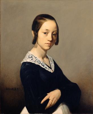 Jean-François Millet. Louise Antoinette Theodin