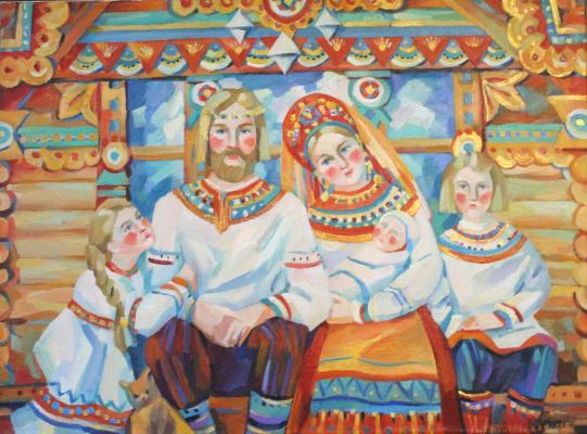 Irina Valerievna Antonovskaya. Teremok
