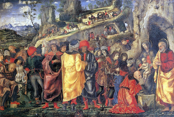 Bernardo Parentino. The adoration of the Magi