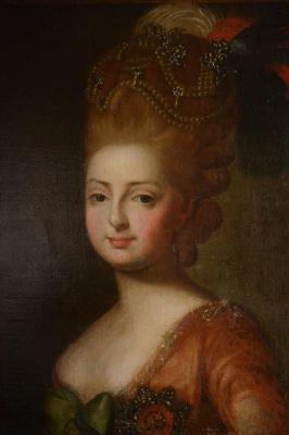 Неизвестный  художник. Портрет Марии