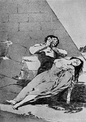"Francisco Goya. ""Tantal"" (Series ""Caprichos"", page 9)"