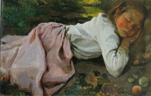 Zinaida Serebryakova. Sleeping Gal