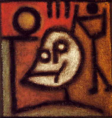 Paul Klee. Death and fire