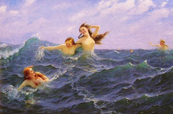 Ханс Даль. Дочери Нептуна
