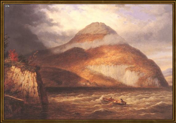 Гора у моря