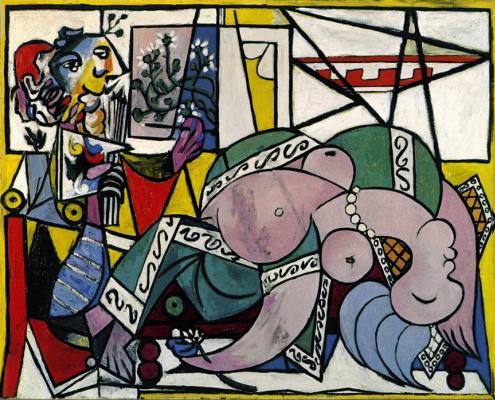 Pablo Picasso. The artist's Studio